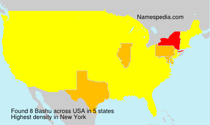 Surname Bashu in USA