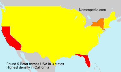 Surname Batat in USA