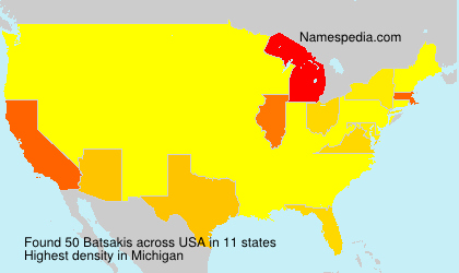 Surname Batsakis in USA