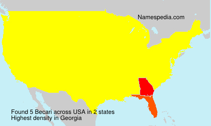 Surname Becari in USA