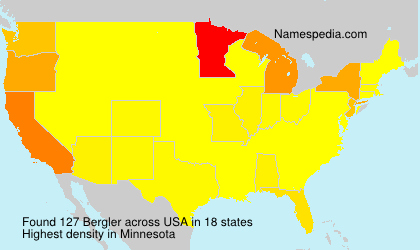 Surname Bergler in USA