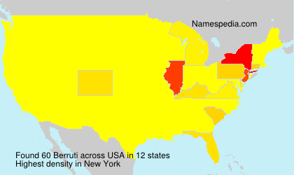 Surname Berruti in USA