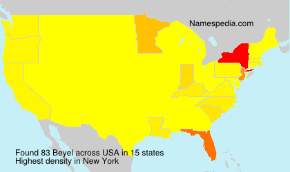 Surname Beyel in USA