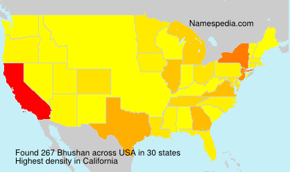 Surname Bhushan in USA
