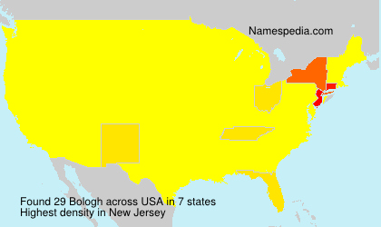 Surname Bologh in USA