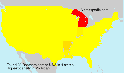 Surname Boomers in USA