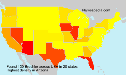 Surname Brechler in USA