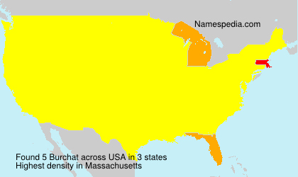 Surname Burchat in USA