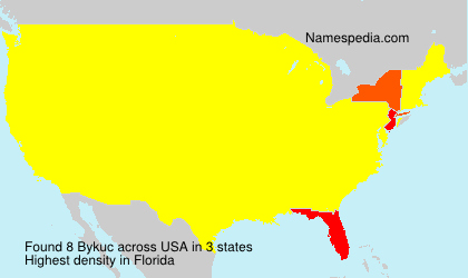 Surname Bykuc in USA