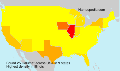 Surname Calumet in USA