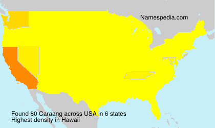 Surname Caraang in USA