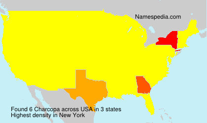 Surname Charcopa in USA