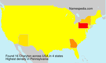 Surname Charyton in USA