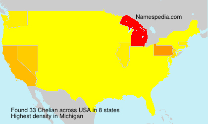 Surname Chelian in USA