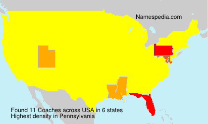 Surname Coaches in USA