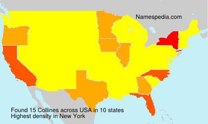 Surname Collines in USA
