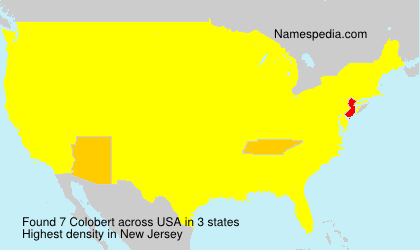 Surname Colobert in USA