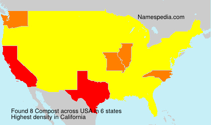 Surname Compost in USA