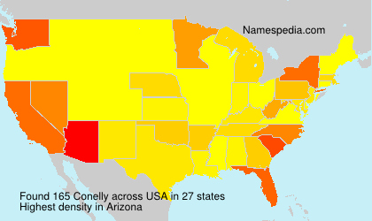 Surname Conelly in USA