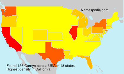 Surname Cornyn in USA