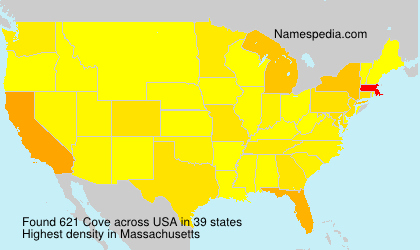 Surname Cove in USA