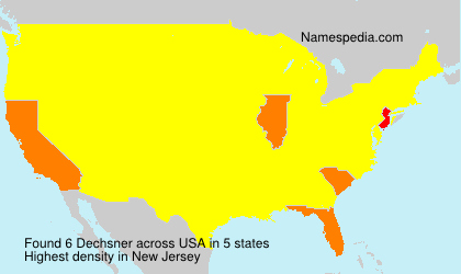 Surname Dechsner in USA
