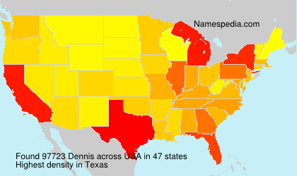 Surname Dennis in USA