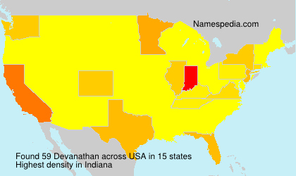 Surname Devanathan in USA