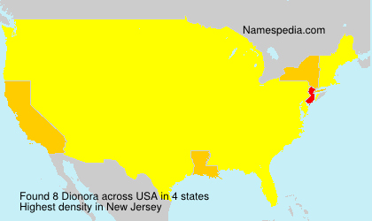 Surname Dionora in USA