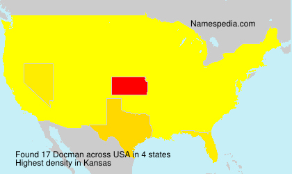 Surname Docman in USA