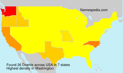 Surname Doehle in USA