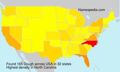 Surname Dough in USA
