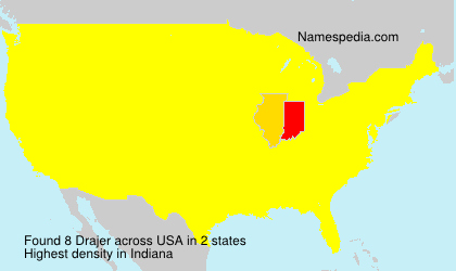 Surname Drajer in USA