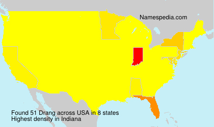 Surname Drang in USA