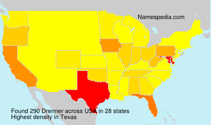 Surname Drenner in USA