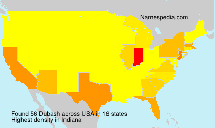 Surname Dubash in USA