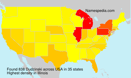 Surname Dudzinski in USA