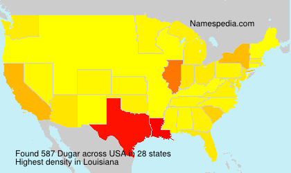 Surname Dugar in USA