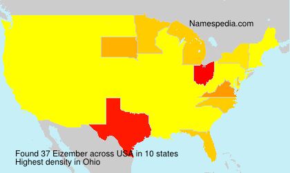 Surname Eizember in USA