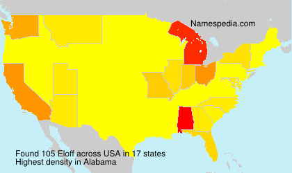 Surname Eloff in USA