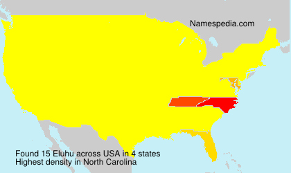 Surname Eluhu in USA