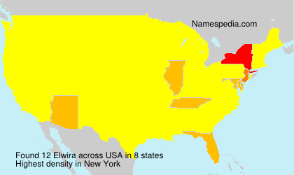 Surname Elwira in USA