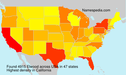 Surname Elwood in USA