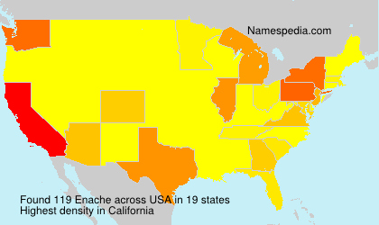 Surname Enache in USA