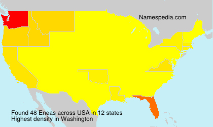 Surname Eneas in USA