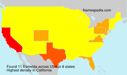 Surname Esmelda in USA