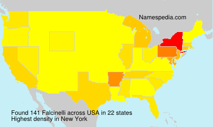Surname Falcinelli in USA