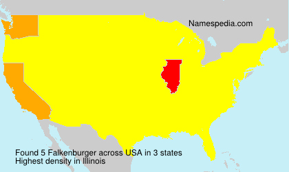 Surname Falkenburger in USA