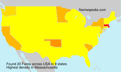 Surname Farea in USA