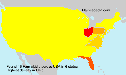 Surname Farmakidis in USA